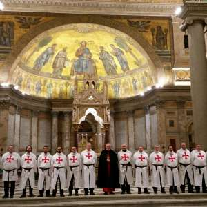 Holy Mass at the Papal Basilica of Saint Paul Outside the Walls in Rome Mass presided by His Most Reverend Cardinal James M. Harvey