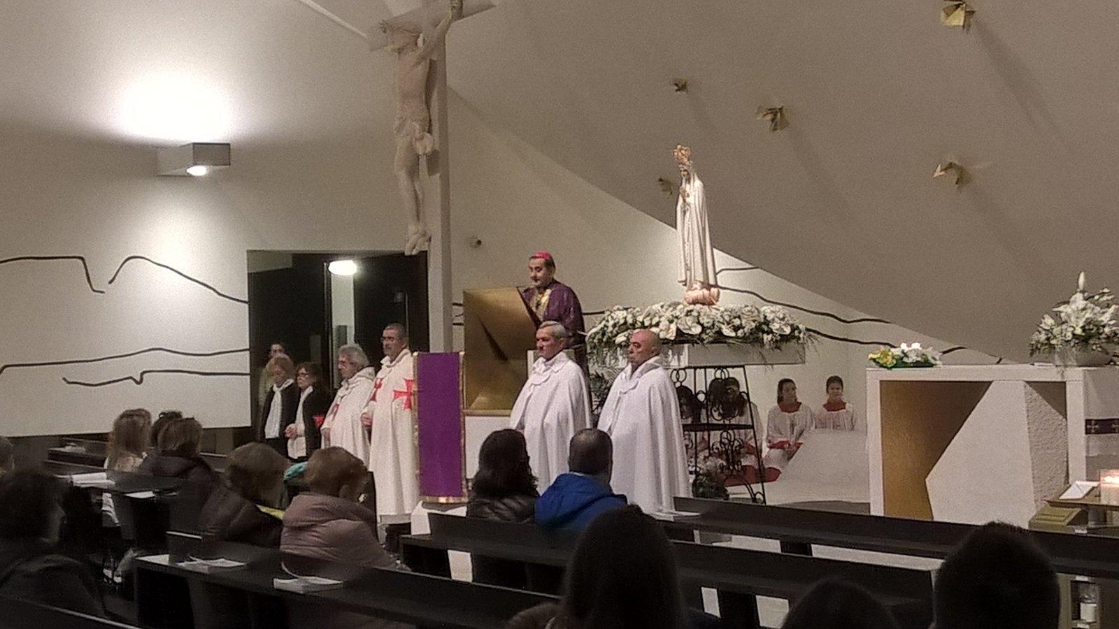 Our Lady Pilgrim of Fatima in Trezzano sul Naviglio with Mons. Mario Delpini.