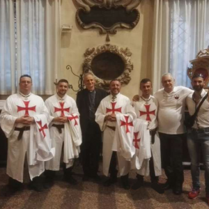 Catholic Templars participate in perpetual Eucharistic Adoration in Bologna presided over by Archbishop Matteo Maria Zuppi